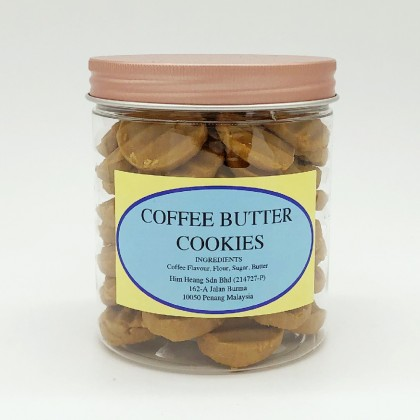 COFFEE BUTTER COOKIES